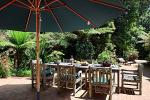 Outdoor table for guests at Bellawongarah